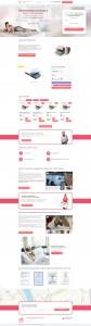 Создание и продвижение лендинга по продаже матрасов на Wordpress